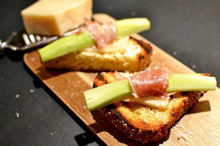 Prosciutto & Parmesan Cheese Snack