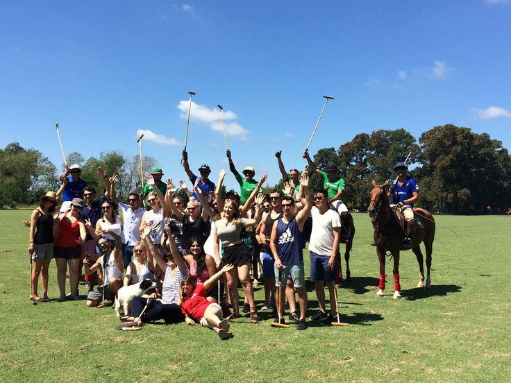 Watch the Pros. Get into the game! #argentinapoloday #poloinargentina