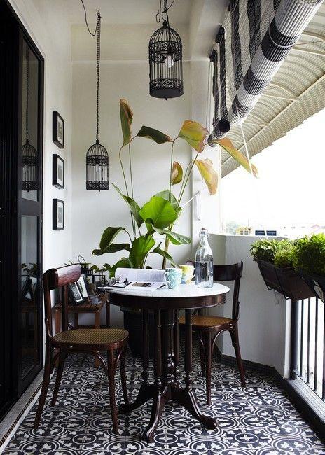 Es ist höchste Zeit, aus dem vernachlässigten Balkon ein kleines Paradies zu m… – Sabine Friedel