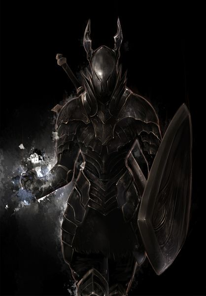 This is a Black Knight from Dark Souls. What I like about this character is how the armour he wears keeps him shadowed in dark locations, making him almost impossible to see. I want to implement this into my boss, as it will create a very interesting scene of the player trying to find the boss through the darkness, and then having the boss emerge and attack the player before retreating.