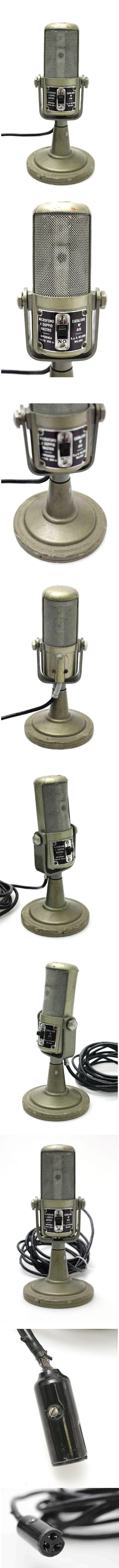 Used fisher xp speakers for sale hifishark - Geloso Sa Milano Microfono A Doppio Nastro 416 Mikrofon Vintage Hifi