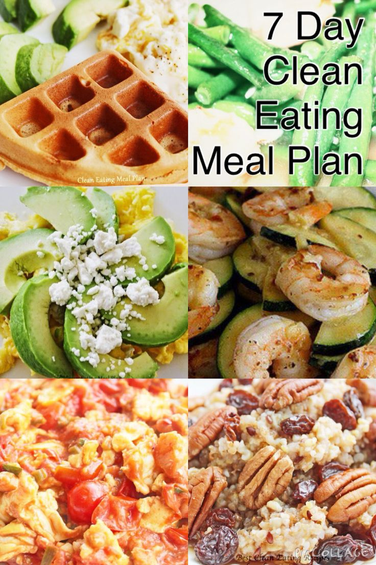 7-day clean eating meal plan | healthy weight loss help with clean eating diet | #cleaneating #healthyeating