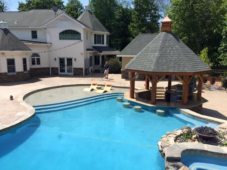 30 best images about gunite swimming pools on pinterest for Affordable pools ri