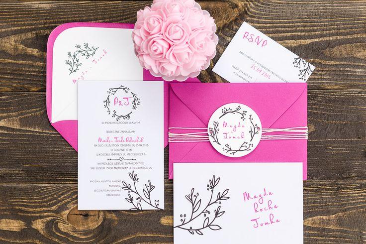 Zaproszenia ślubne EMMA GIE