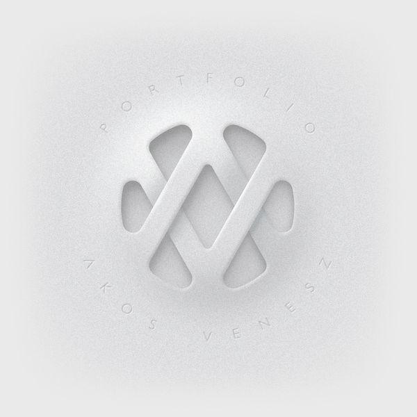 AV logo 設計過程 | MyDesy 淘靈感