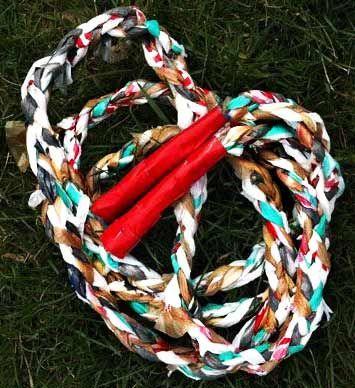 Sacolinhas Plásticas viram Corda! - Plástico - Arte Reciclada