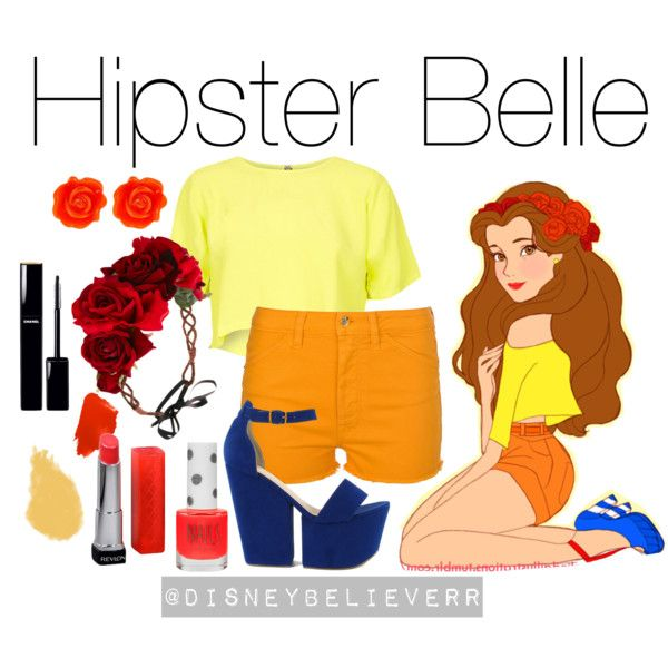 """Hipster belle lumpalinda"" by disneybelieverr on Polyvore"