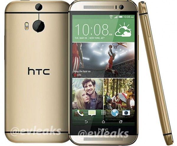 De opvolger van de HTC One, de M8 of te wel de All New HTC One, duikt op in het GOUD! http://techfreaks.nl/2014/02/19/htc-one-m8-goud/