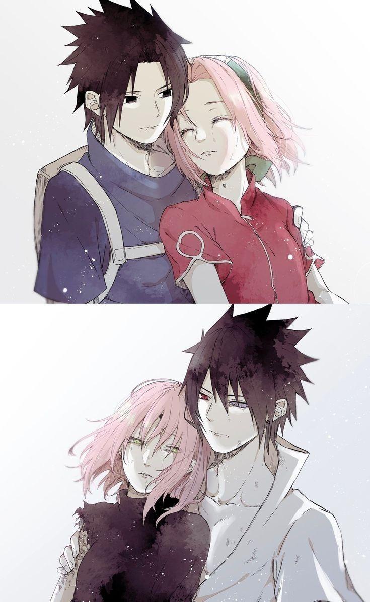 Pin by Daisuke3445 on Naruto (Series) Sakura and sasuke