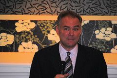 Tim Kaine has Irish Heritage| Tim Kaine has been selected as Hillary Clinton's running mate. There is potential that he could become Vice President of the United States. Tim Kaine has Irish heritage and spoke at the American Ireland Fund dinner in July of 2016.   #Irish #heritage #familytree #genealogy #politics