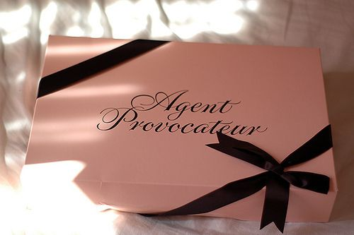 Agent Provocateur, possibly one of the best gifts i hope to ever get from a future significant other.