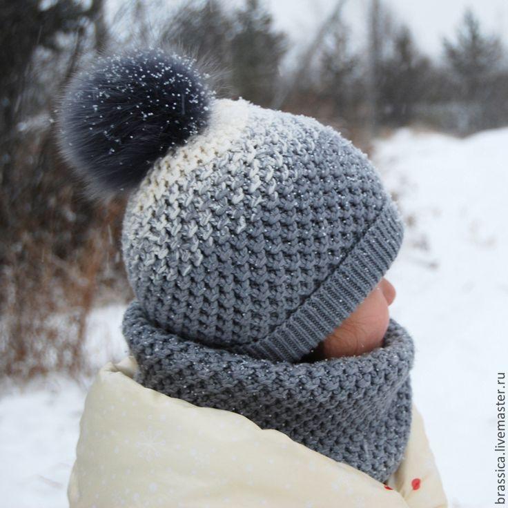 снуд и шапка спицами - Поиск в Google