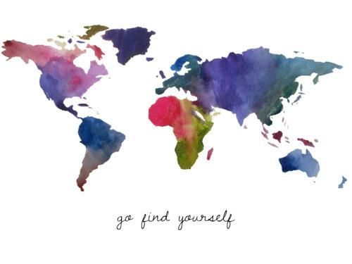 Find Yourself.Wall Art, Inspiration, Quotes, Blake Living, Finding, World Maps, Places, Travel, Wanderlust
