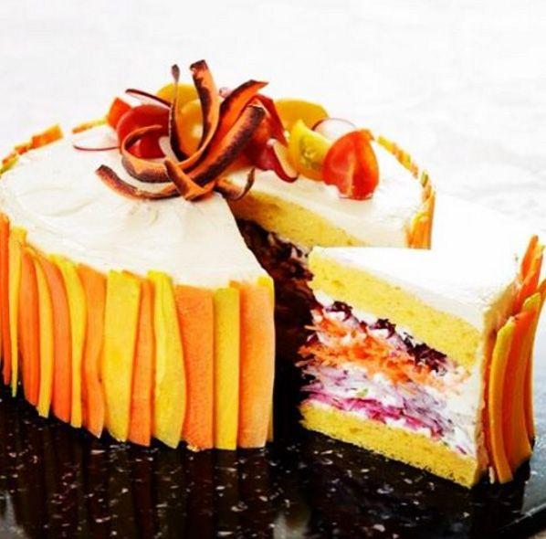 La nouvelle tendance pâtissière japonaise : le salad cake | cerfdellier le blog