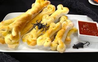 Insatiable  Halloween After School Snack - Bones & Blood!