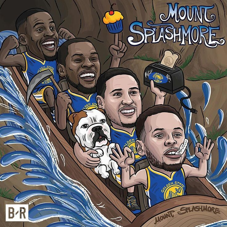 The Golden State Warriors rode right into the NBA Finals.