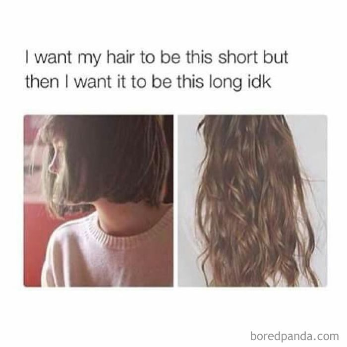 242 Hilarious Memes That Will Make You Feel Bad For Your Hairstylist Hair Curly Hair Styles My Hair