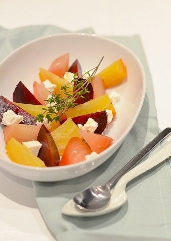 Geroosterde bieten uit de oven - Uit Paulines Keuken - Roastes beetroot #chiogga #healthy