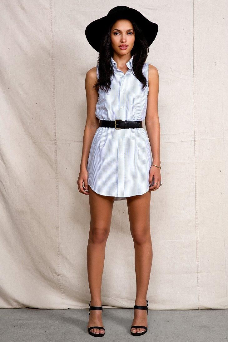 Urban Renewal Country Club Shirtdress #urbanoutfitters