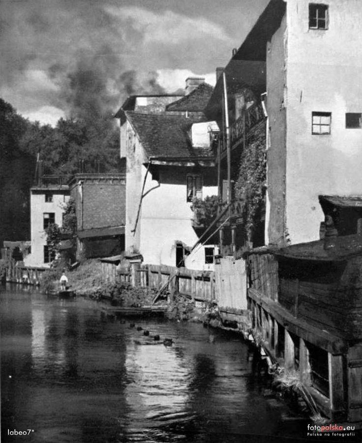 Bydgoska Wenecja, Bydgoszcz - 1931 rok, stare zdjęcia