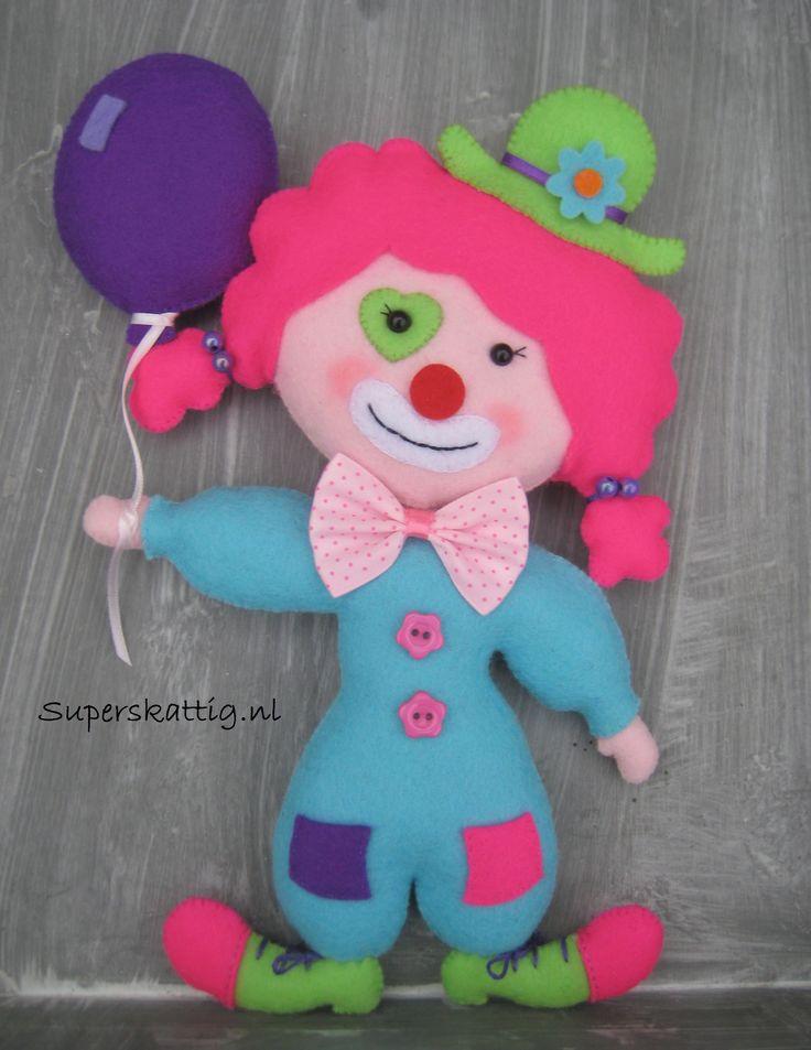 Handgemaakt vilt / handmade felt  www.superskattig.nl