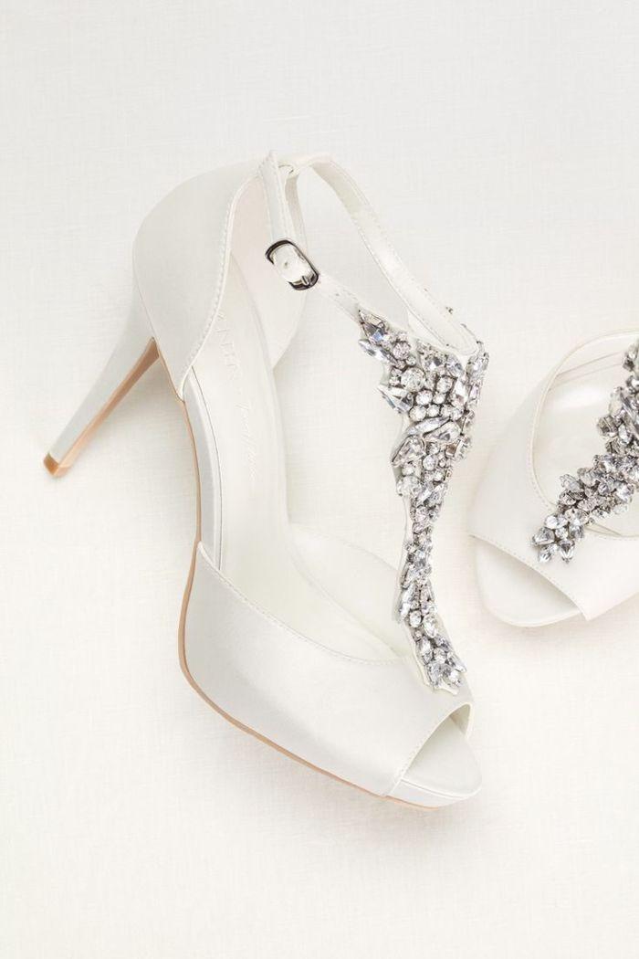 ▷ 1001 + Idées pour une chaussure femme pour mariage + les ornements
