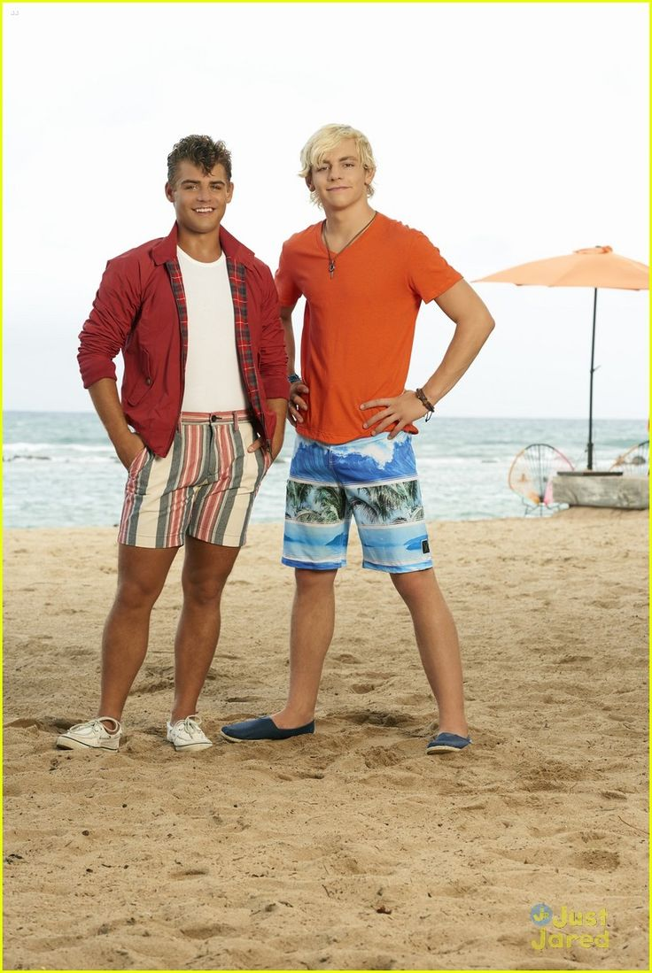 Garrett Clayton (Tanner) and Ross Lynch (Brady) #TeenBeach2