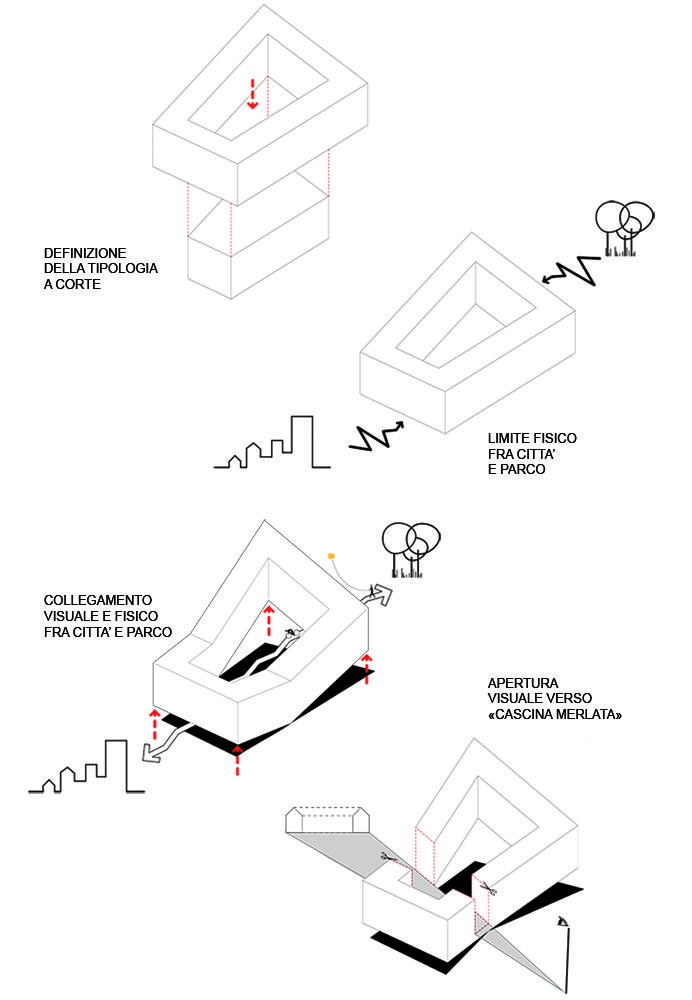 33 best Architecture Massing Diagrams images on Pinterest