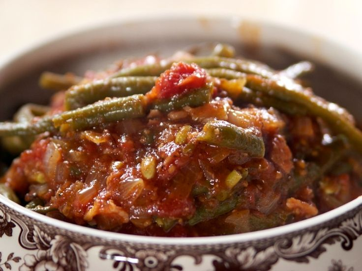 Green Beans and Tomatoes Recipe : Ree Drummond : Food Network - FoodNetwork.com