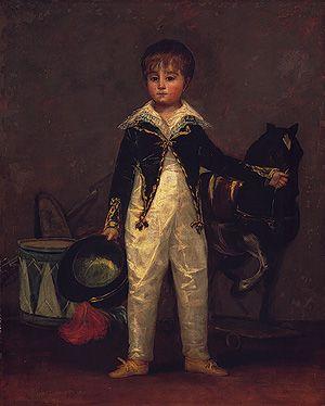 José Costa y Bonells (died 1870), Called Pepito  Francisco de Goya y Lucientes