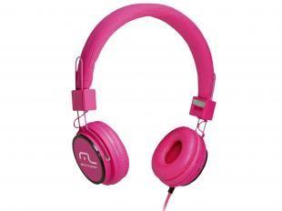 Fone de Ouvido Headphone Dobrável Conexão P2 - Compat. MP3/ iPhone/iPod - Multilaser Fun