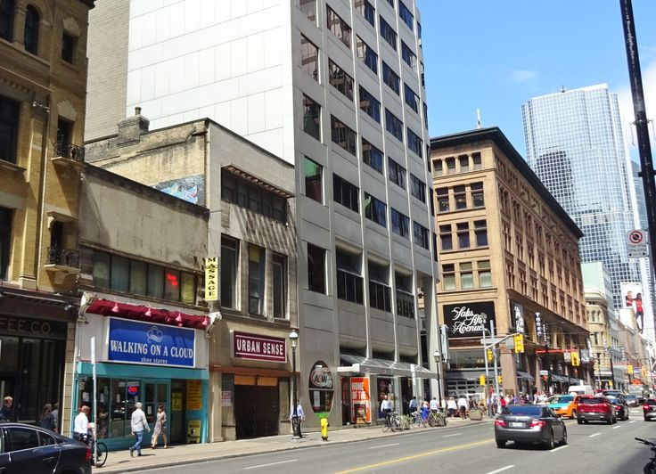 Yonge Street, south of Queen St.