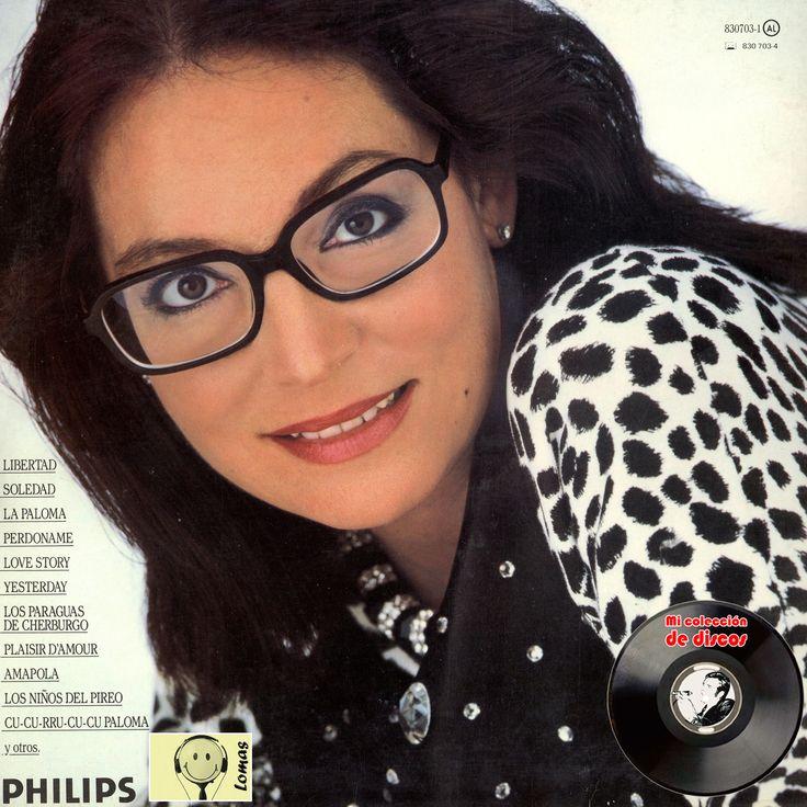Nana Mouskouri - Con Toda El Alma [Doble LP Philips] (1986)_Trasera