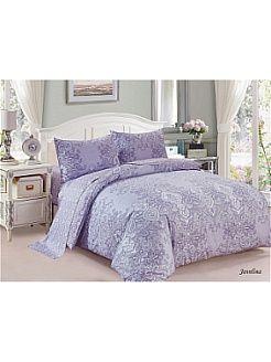 Комплект постельного белья евро 50х70,сатин Jardin