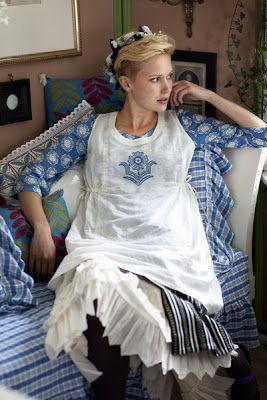 Hej Tjorven: Gudrun Sjödén winter home 2007