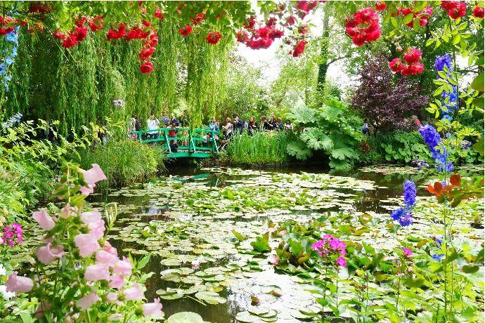 美しい村シリーズ モネの家と庭園 印象派の世界 ジベルニー