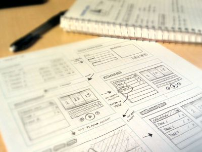 App UX Sketches  by Zach Burghardt