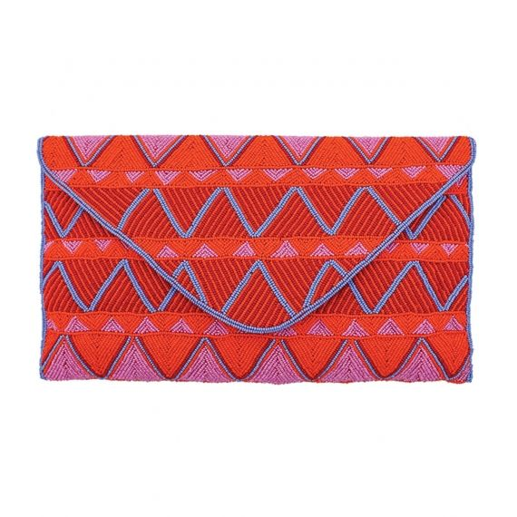 Aspiga Mariana Clutch - Orange Outstanding, colourful and still easy to combine. The Mariana clutch is everything you ever wanted and needed. With a magnetic clasp for closure and a separate pocket for your phone, you can wear it with a strap around your shoulder or simply tuck it under your arm. Available in more colours. £130. Worldwide Shipping Available.