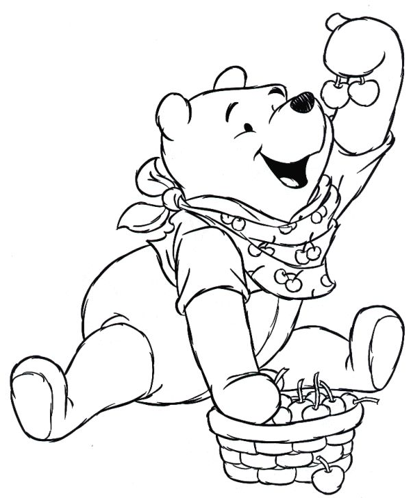 77 best coloriages winnie l 39 ourson images on pinterest coloring books coloring pages and - Coloriage winni l ourson ...