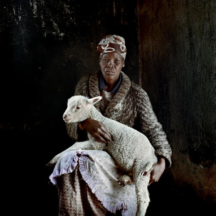 Daniel Naude - Regina Nelani. Barkly East, Eastern Cape, 27 July 2010