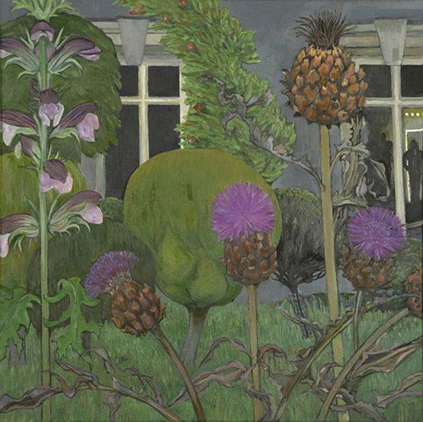 christiane kubrick - Garden in the Evening