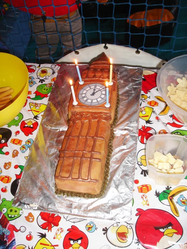 Image Big Ben Birthday Cake Download
