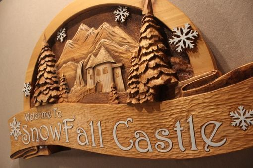 Custom Made Custom Wood Signs, Hand Carved Signs, Wood Carving By Lazy River Studio
