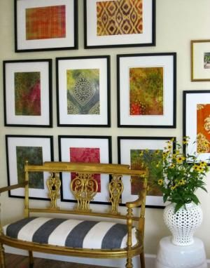17 best ideas about framed fabric art on pinterest framing fabric yellow wall art and yellow nursery decor