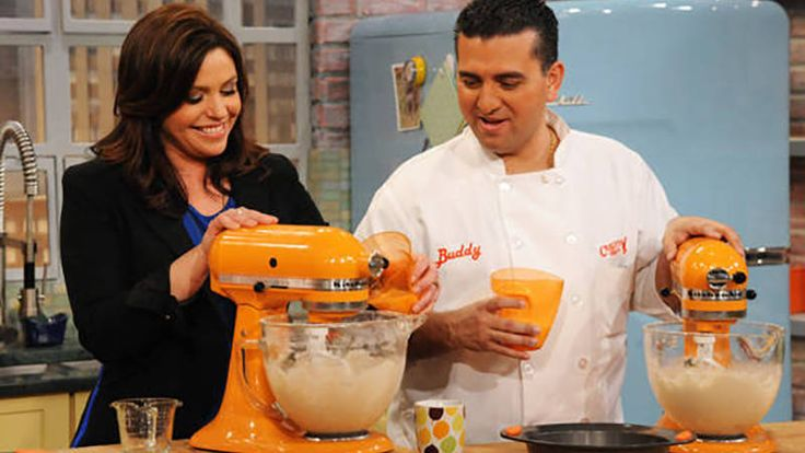 Buddy Valastro, baker and star of TLC's Cake Boss, does dessert and Italian comfort food like no other!