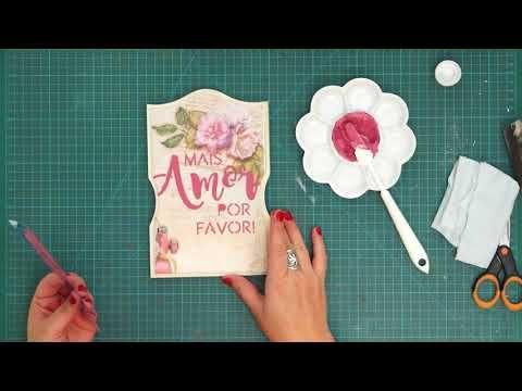 Pintura em MDF com Tays Rocha - YouTube