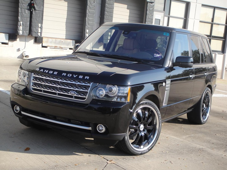 are ya listening I need a blacked out range rover supercharged