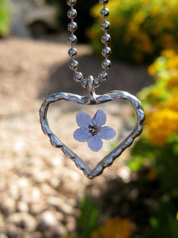 Beaded Edge Silver Solder Heart Pendant by Forgetmenotkeepsake