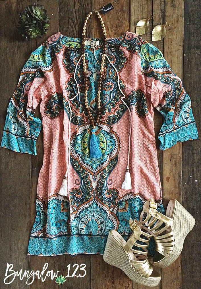 LOVE THIS. Colors, pattern, shape. Awesome tunic.