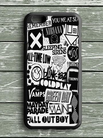 5sos Coldplay Fall Out Boy The Vamps 1975 iPhone 6 Plus Case
